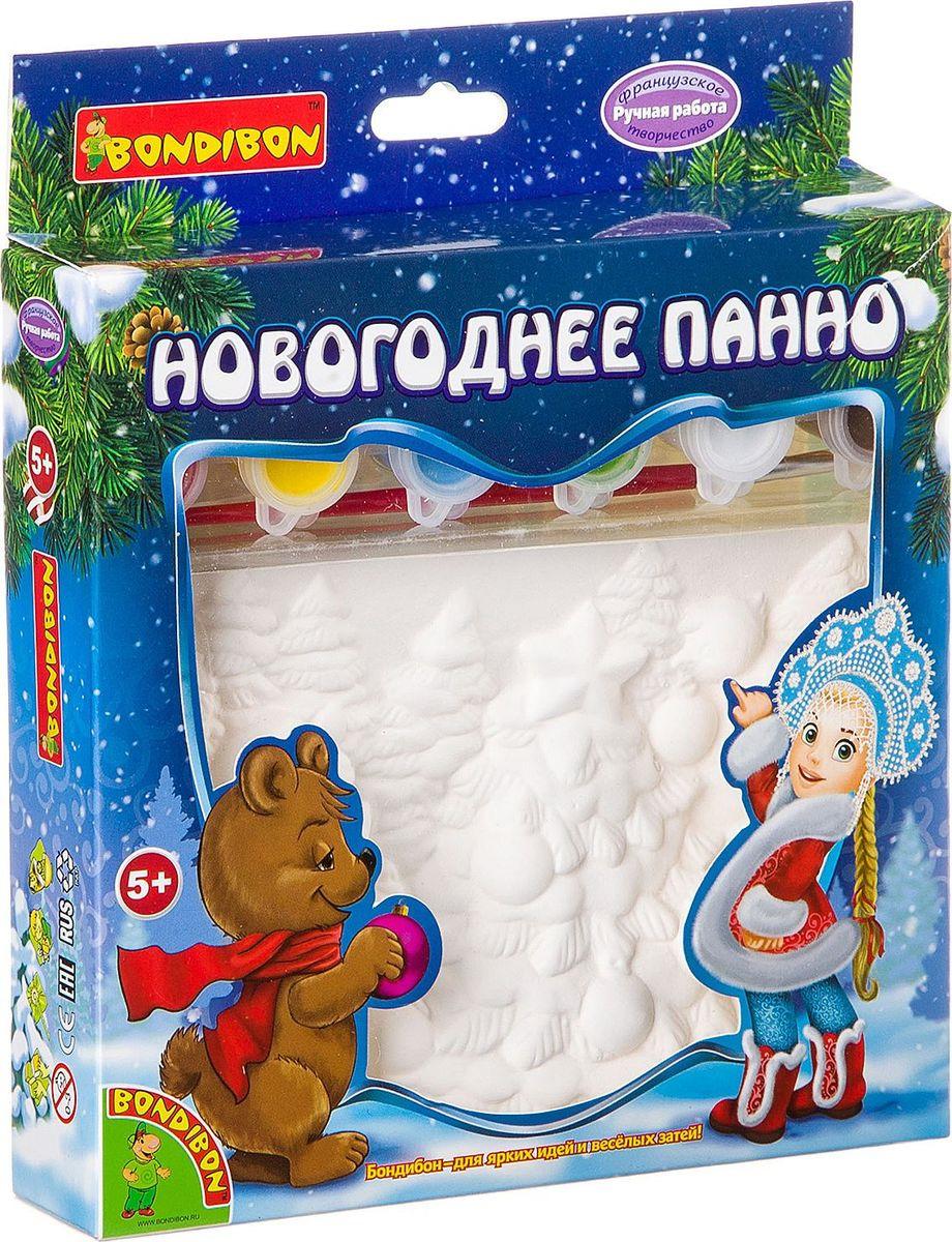 """Набор для росписи Bondibon """"Новогоднее панно"""""""