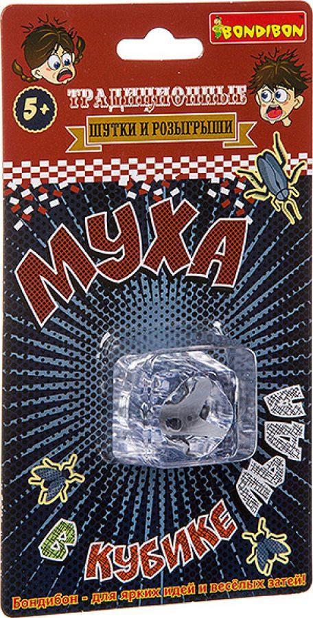Набор фокусов Bondibon Шуткиприколы  Муха в кубике льда