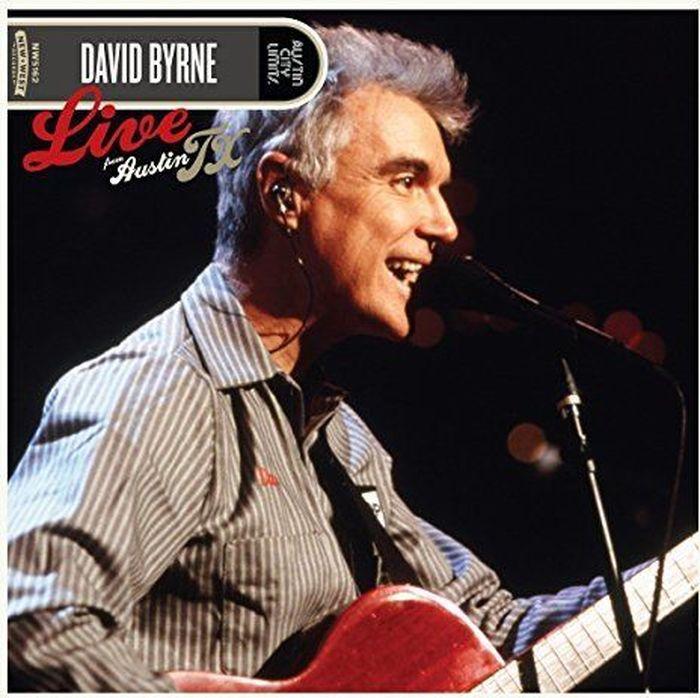 Дэвид Бирн David Byrne. Live From Austin Tx (CD + DVD) david byrne