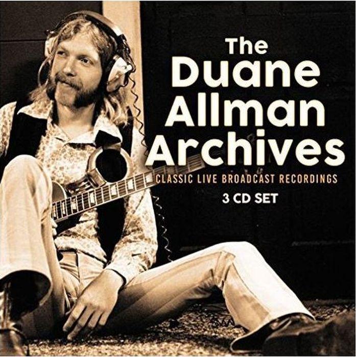 Дюан Олмен Duane Allman. The Archives (3 CD)