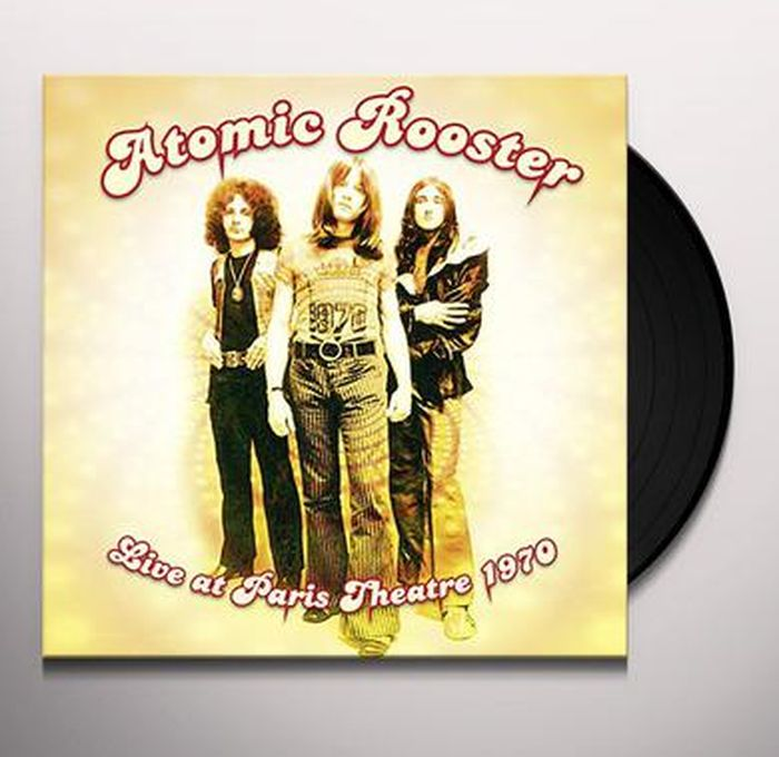 Atomic Rooster Atomic Rooster. Live At Paris Theatre 1970 (LP) atomic w739233 s