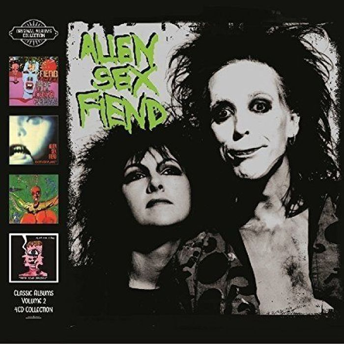 Alien Sex Fiend Alien Sex Fiend. Classic Albums Volume II (4 CD) alien legion omnibus volume 1