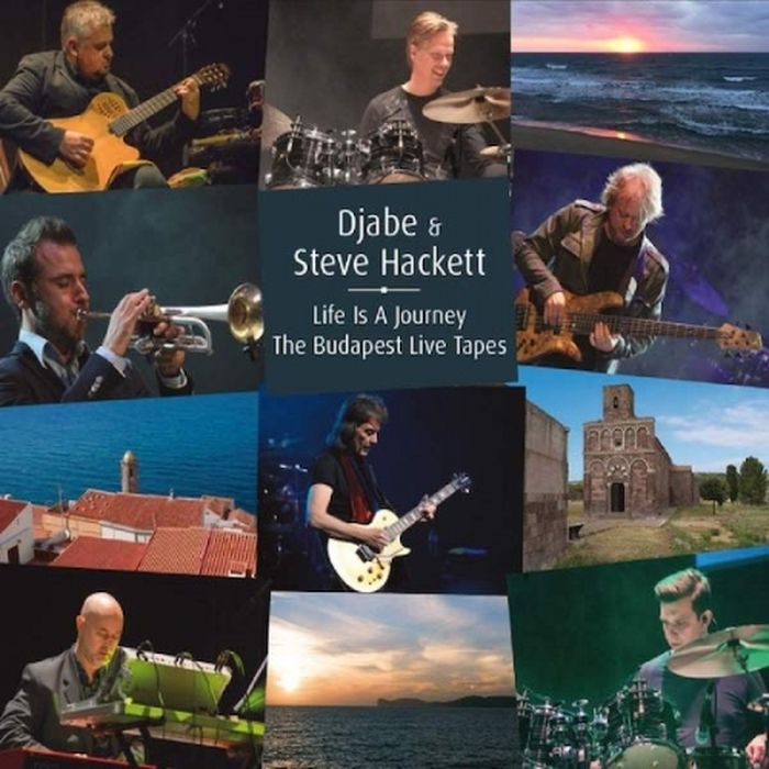 Djabe & Steve Hackett Djabe & Steve Hackett. Life Is A Journey. The Budapest Live Tapes (2 CD + DVD) steve hackett steve hackett wolflight 2 lp cd