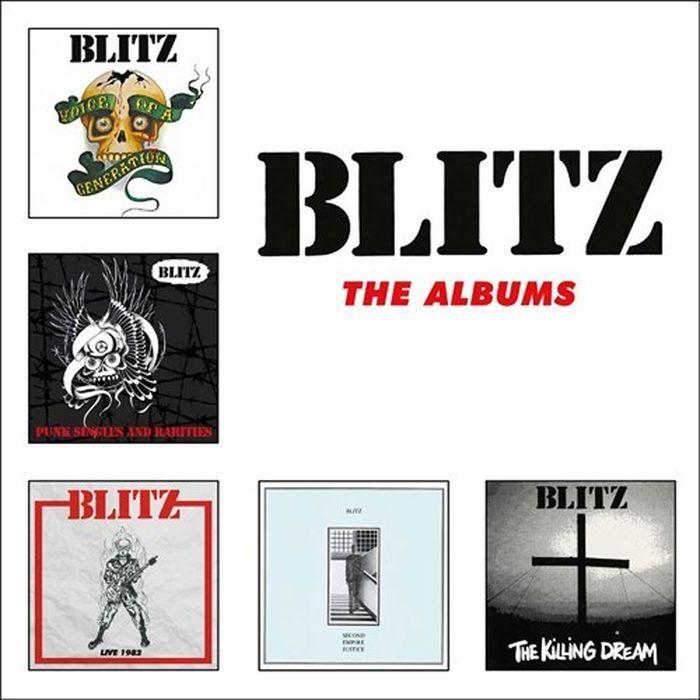 Blitz Blitz. The Albums (5 CD) цена