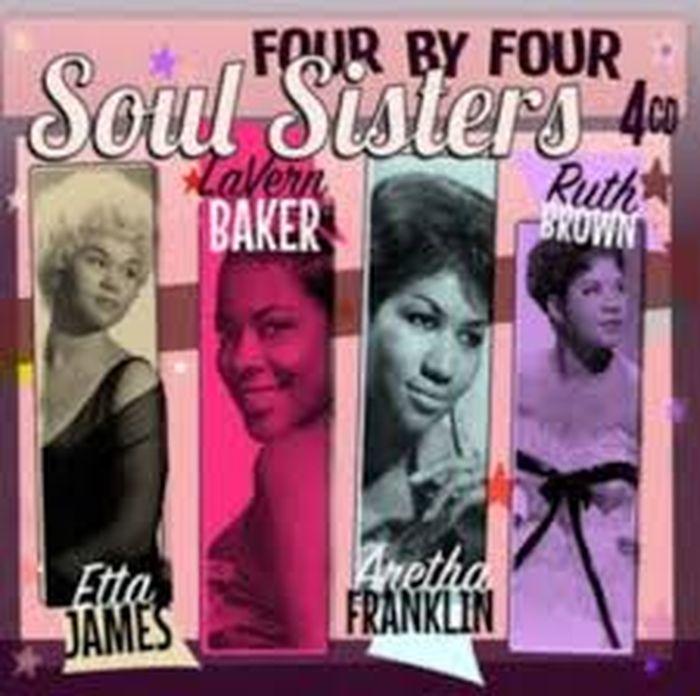 Etta James, Aretha Franklin, Lavern Baker, Ruth Brown Etta James, Aretha Franklin, Lavern Baker, Ruth Brown. Soul Sisters (4 CD) james brown james brown night train colour