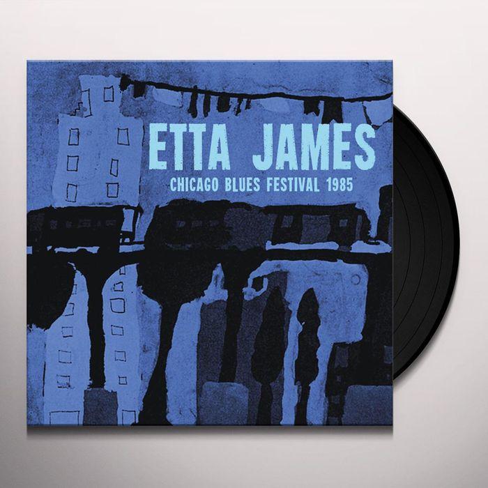Этта Джеймс Etta James. Chicago Blues Festival 1985 (LP) хьюстон персон этта джонс ричард вьяндс джон веббер etta jones etta jones sings lady day