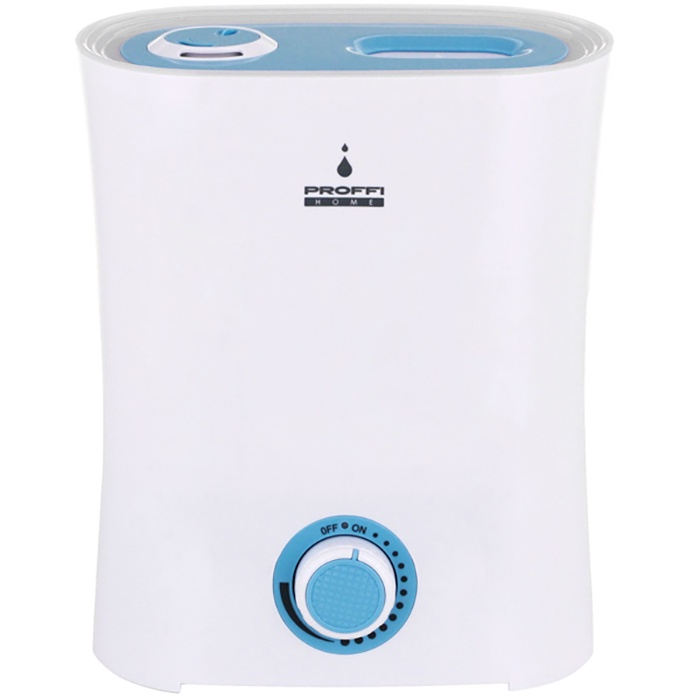 Увлажнитель воздуха Proffi PH8752, белый, синий увлажнитель воздуха что можно добавлять в воду