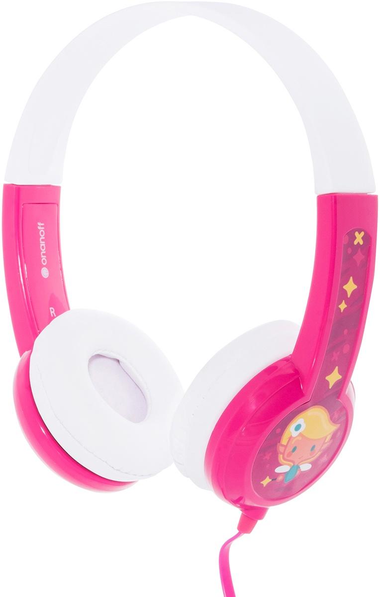 наушники детские Buddyphones Standard Pink BP-PINK-01-K, розовый
