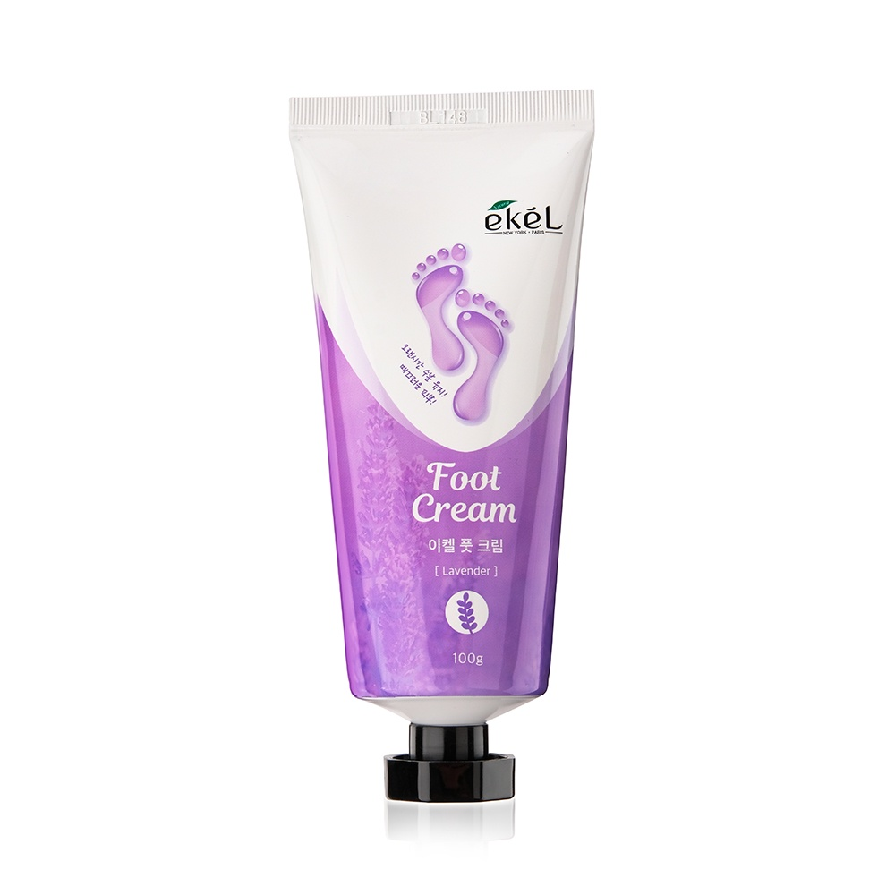 Крем для ног с лавандой Ekel Foot Cream Lavender в тубе, 100 мл цена и фото