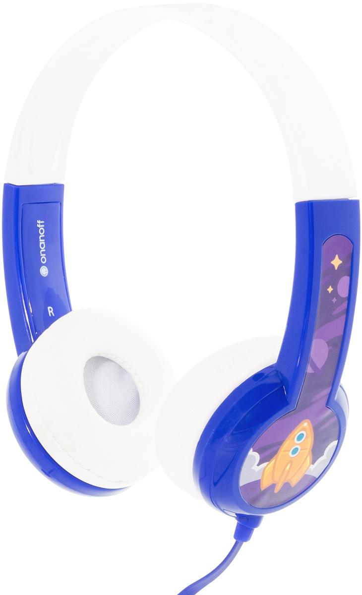 наушники детские Buddyphones Standard Blue BP-BLUE-01-K, синий