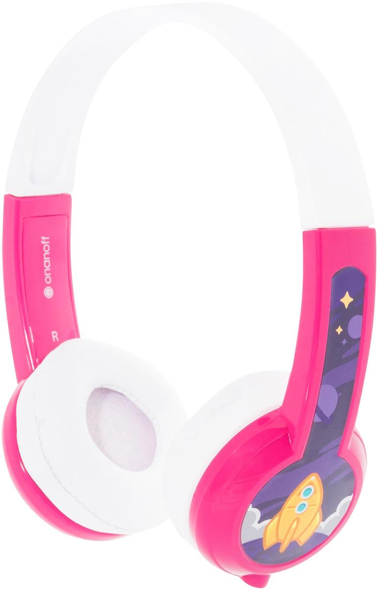 Наушники детские Buddyphones Explore Pink BP-EX-PINK-01-K, розовый