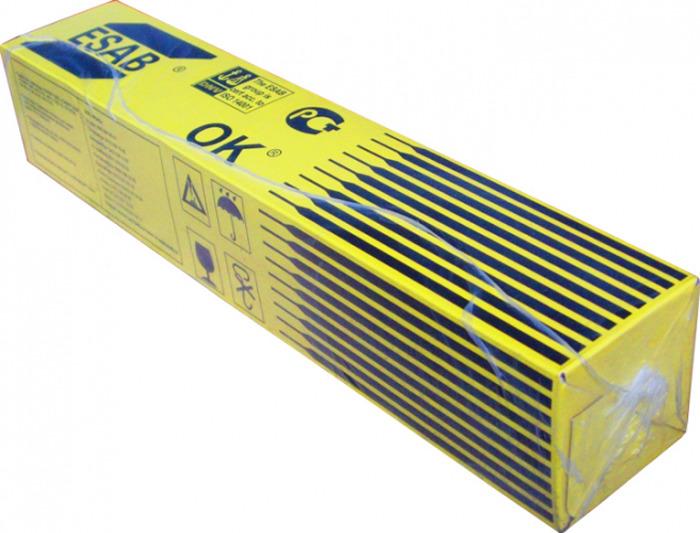 Сварочные электроды Esab ОК 46.00, ESAB-4600253AM0, 2.5 х 350 мм, 5.3 кг электроды для сварки esab ок 46 00 ф 2 0мм ac dc переменный постоянный 2кг для углеродистых сталей
