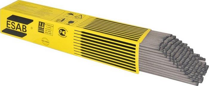 Сварочные электроды Esab ОК 46.00, ESAB-4600202WD0, 2 х 300 мм, 2 кг электроды для сварки esab ок 46 00 ф 2 0мм ac dc переменный постоянный 2кг для углеродистых сталей