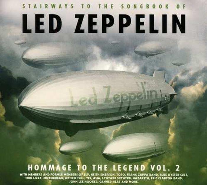 Фото - Various Artists. Led Zeppelin - Homage To The Legend Vol.2 cd led zeppelin ii deluxe edition