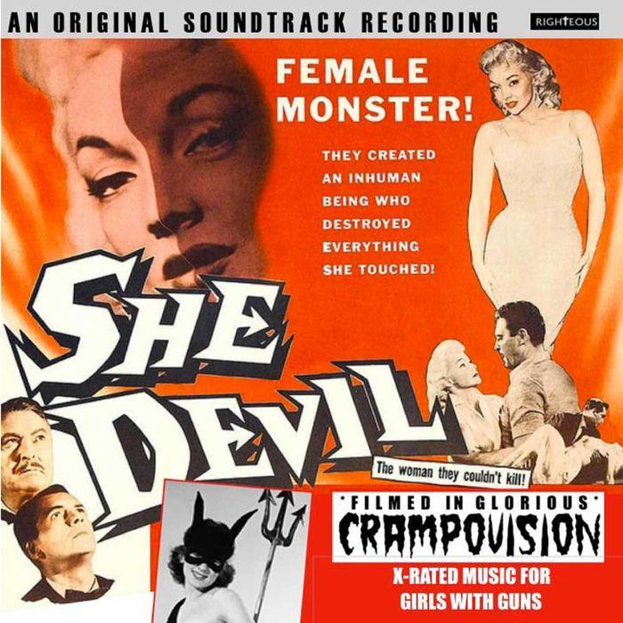 лучшая цена Various Artists. She Devil. An Original Soundtrack Recording