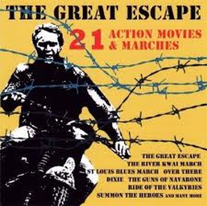 лучшая цена Various Artists. The Great Escape (Action Movies & Marches)