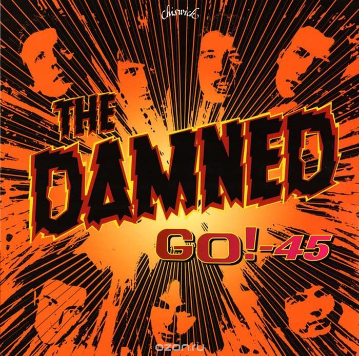The Damned The Damned. Go! - 45 (LP) the queen of the damned
