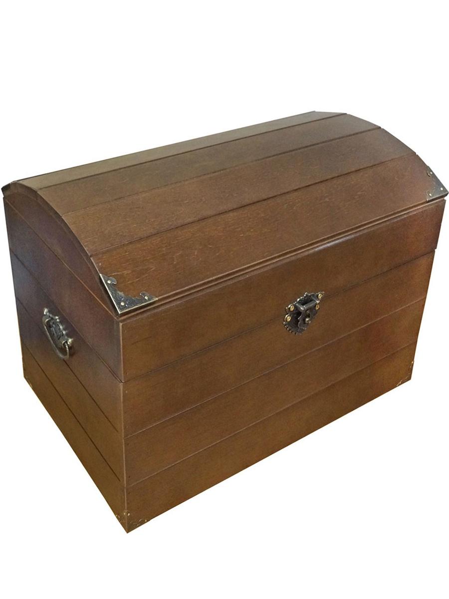 Коробка для хранения Мастер Рио Сундук коричневый, Дерево