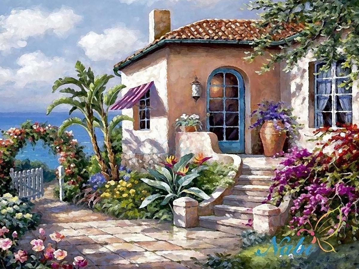 Цветов, цветы купить в крыму домик