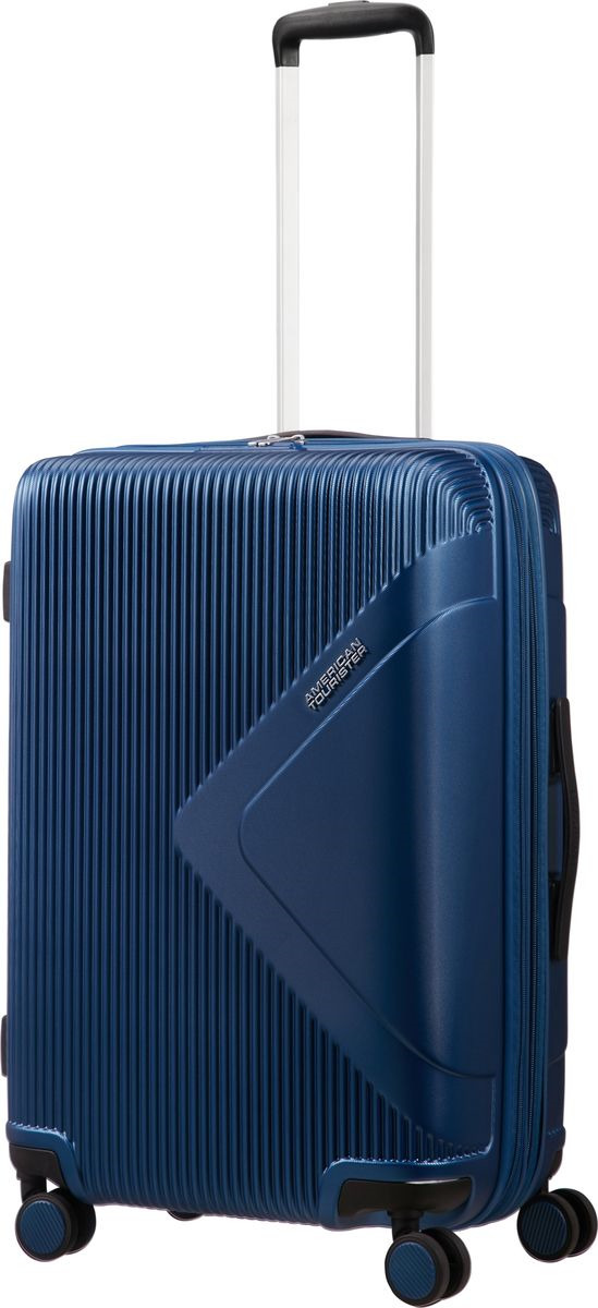 купить Чемодан American Tourister Modern Dream, четырехколесный, 55G-41002, темно-синий, 70 л по цене 14900 рублей