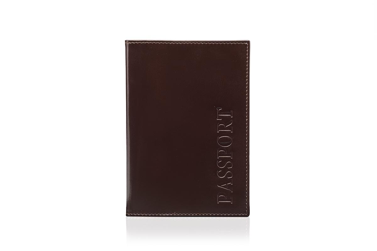 Обложка для паспорта Faetano FT-PS01-B56, бордовый обложка для паспорта женская paulo villar цвет бордовый 00057539