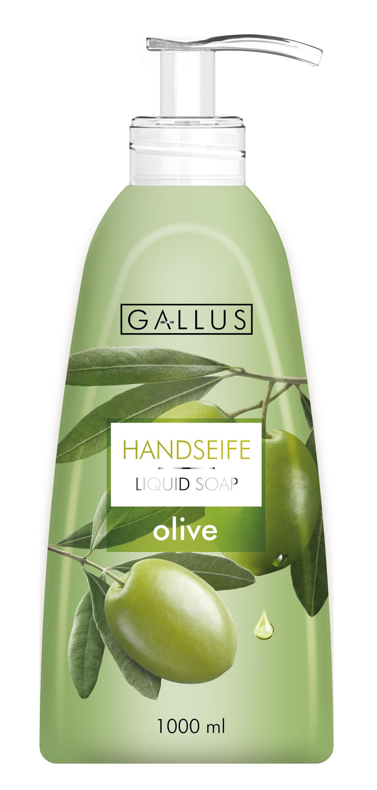 Жидкое мыло Gallus, Оливка, 1 л