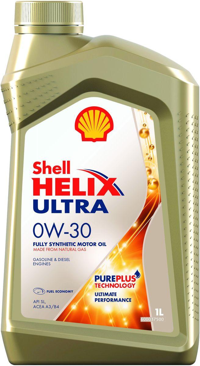 Масло моторное Shell Helix Ultra, 0W-30, синтетическое, 1 л