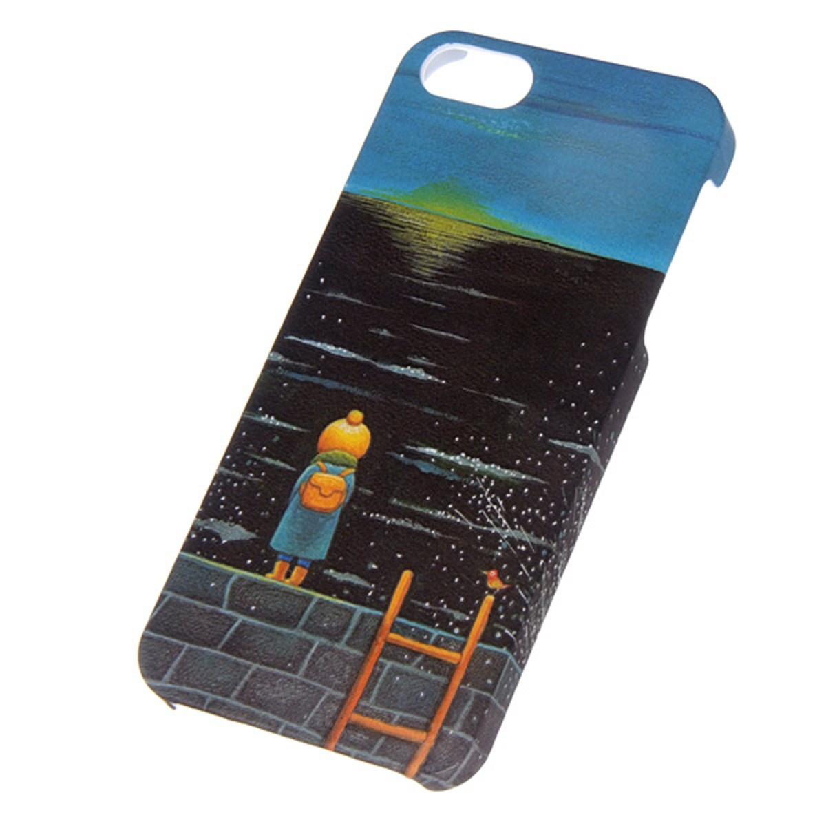 Чехол Mitya Veselkov KAFKA для IPhone 5, KAFKAFIVE-21, серый, черный, синий цена и фото
