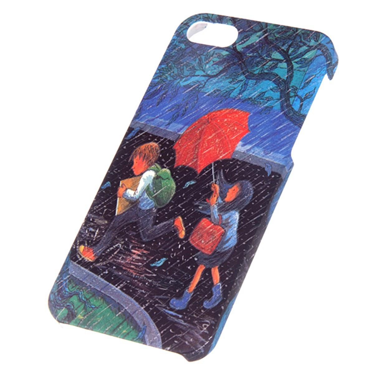 Чехол Mitya Veselkov KAFKA для IPhone 5, KAFKAFIVE-35, черный, синий, красный цена и фото