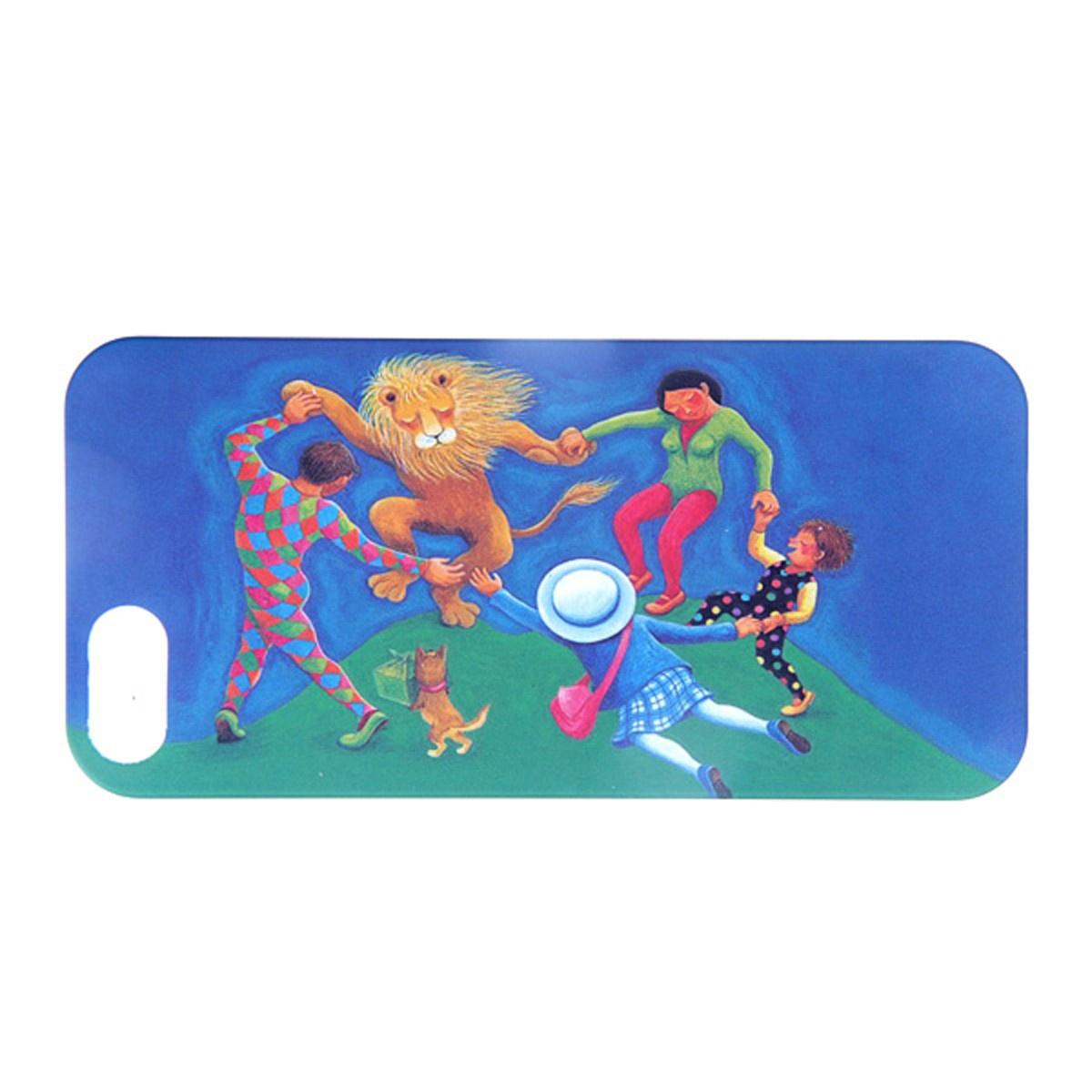 Чехол Mitya Veselkov KAFKA для IPhone 5, KAFKAFIVE-83, синий, зеленый цена и фото