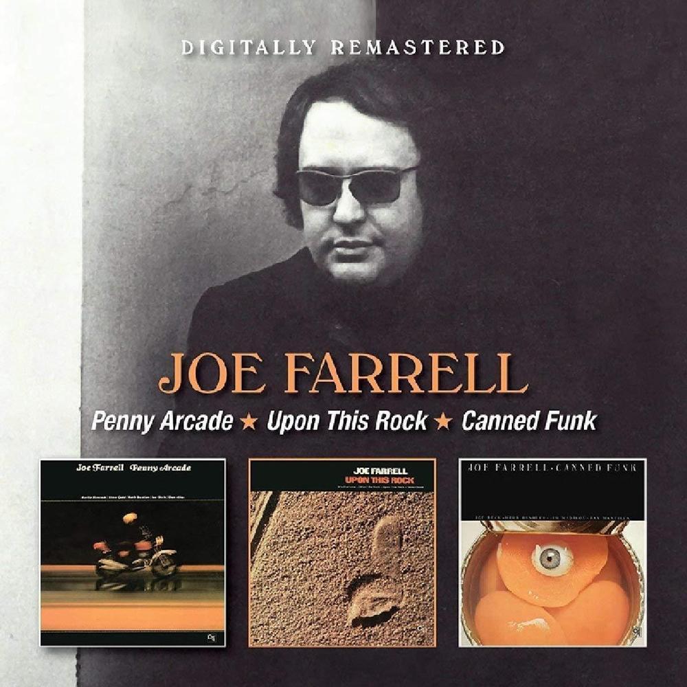 Джо Фарелл Joe Farrell. Penny Arcade / Upon This Rock / Canned Funk (2 CD) penny arcade v1
