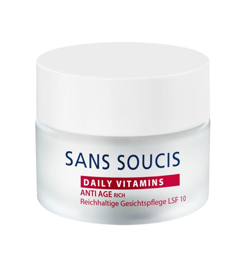 Антивозрастной питательный крем для сухой кожи с экстрактом граната Sans Soucis, 50 мл Sans Soucis
