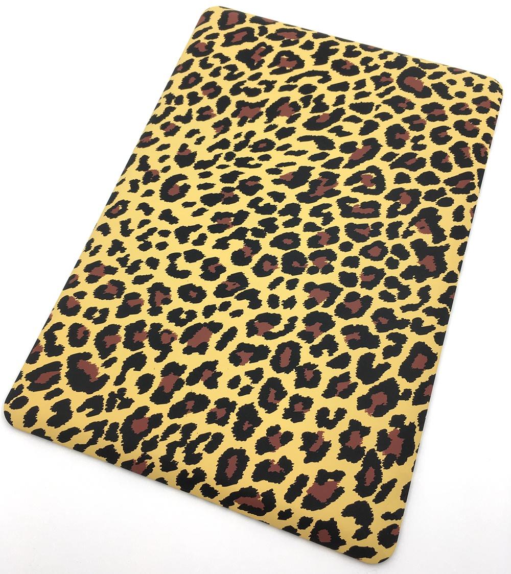 цены на Чехол для ноутбука Мобильная мода Apple Macbook 15 Pro 2011-2012 Защитный пластиковый чехол-накладка, леопард