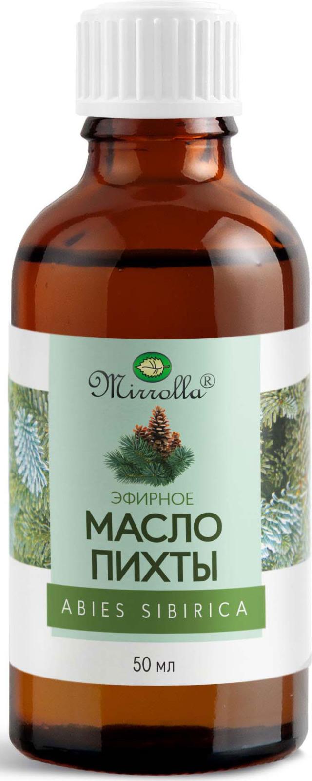 Масло эфирное Мирролла Пихта 50 мл мирролла масло эфирное базилик 10мл