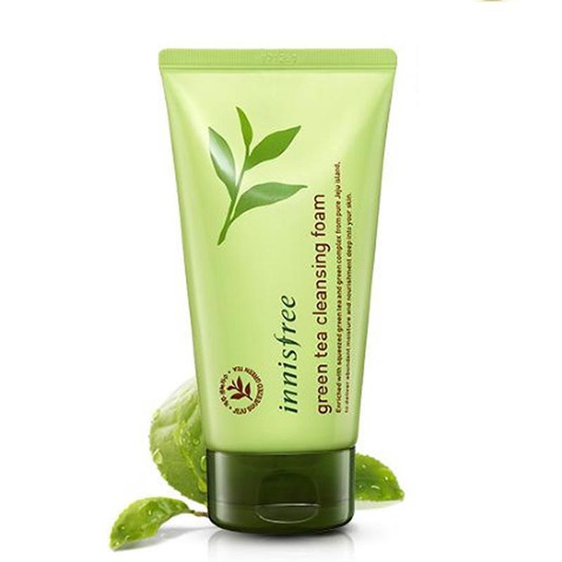 Пенка для умывания Innisfree Green Tea Cleansing Foam цена