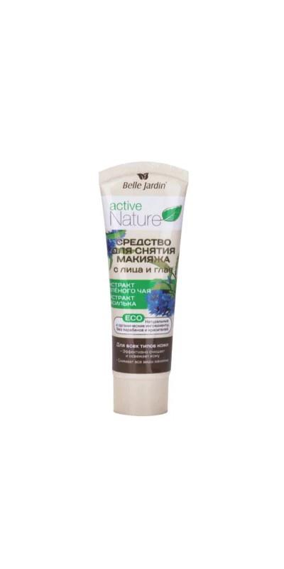 Средство для снятия макияжа Belle Jardin Active Nature ECO для снятия макияжа топикрем жидкость для снятия макияжа с лица и глаз очищающая мягкая 100мл