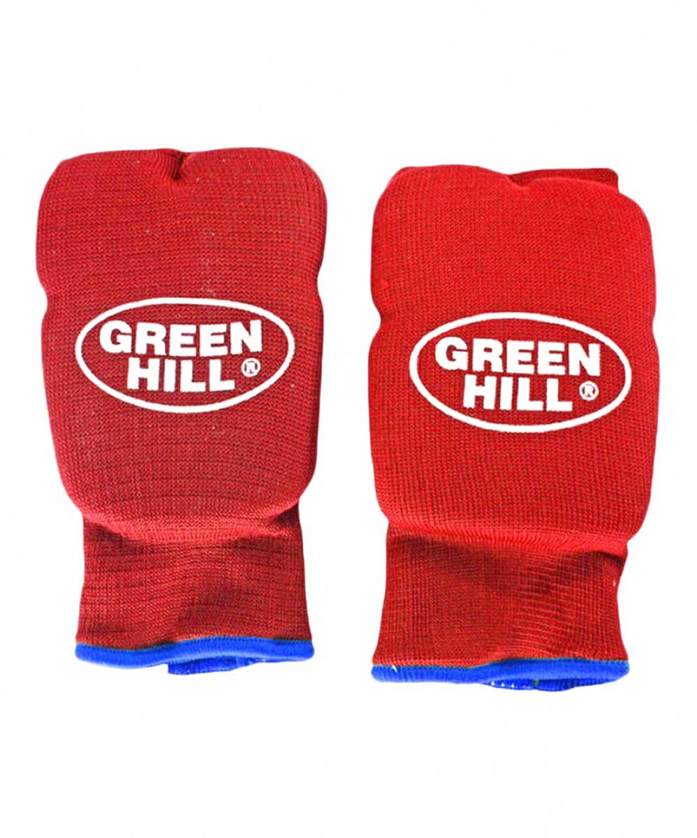 Перчатки для карате Green Hill Эластик HP-6133, 8961015001159, красный перчатки для карате green hill cobra kmс 6083 8961015017372 синий