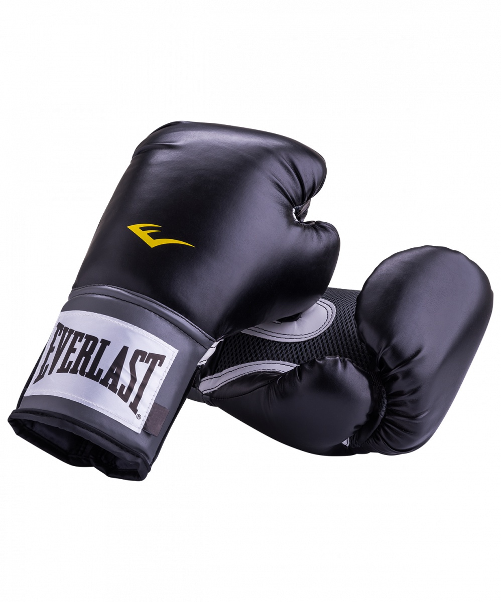 цена на Перчатки боксерские Everlast Pro Style Anti-MB 2314U, 14oz, к/з, черный