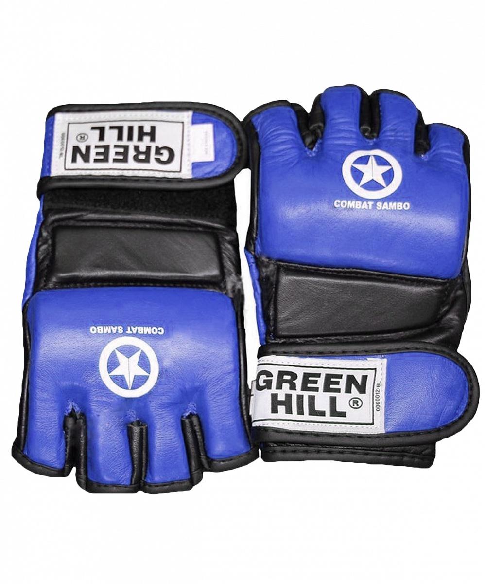 Перчатки для единоборств Green Hill COMBAT SAMBO MMR-0027CS, 0635409669666, размер L, синий перчатки jane green fsa004