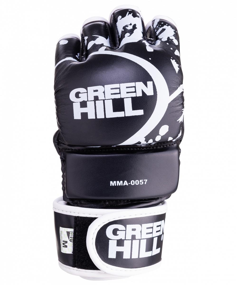 купить Перчатки для единоборств Green Hill MMA-0057, 0635409726260, размер S, черный по цене 2344 рублей