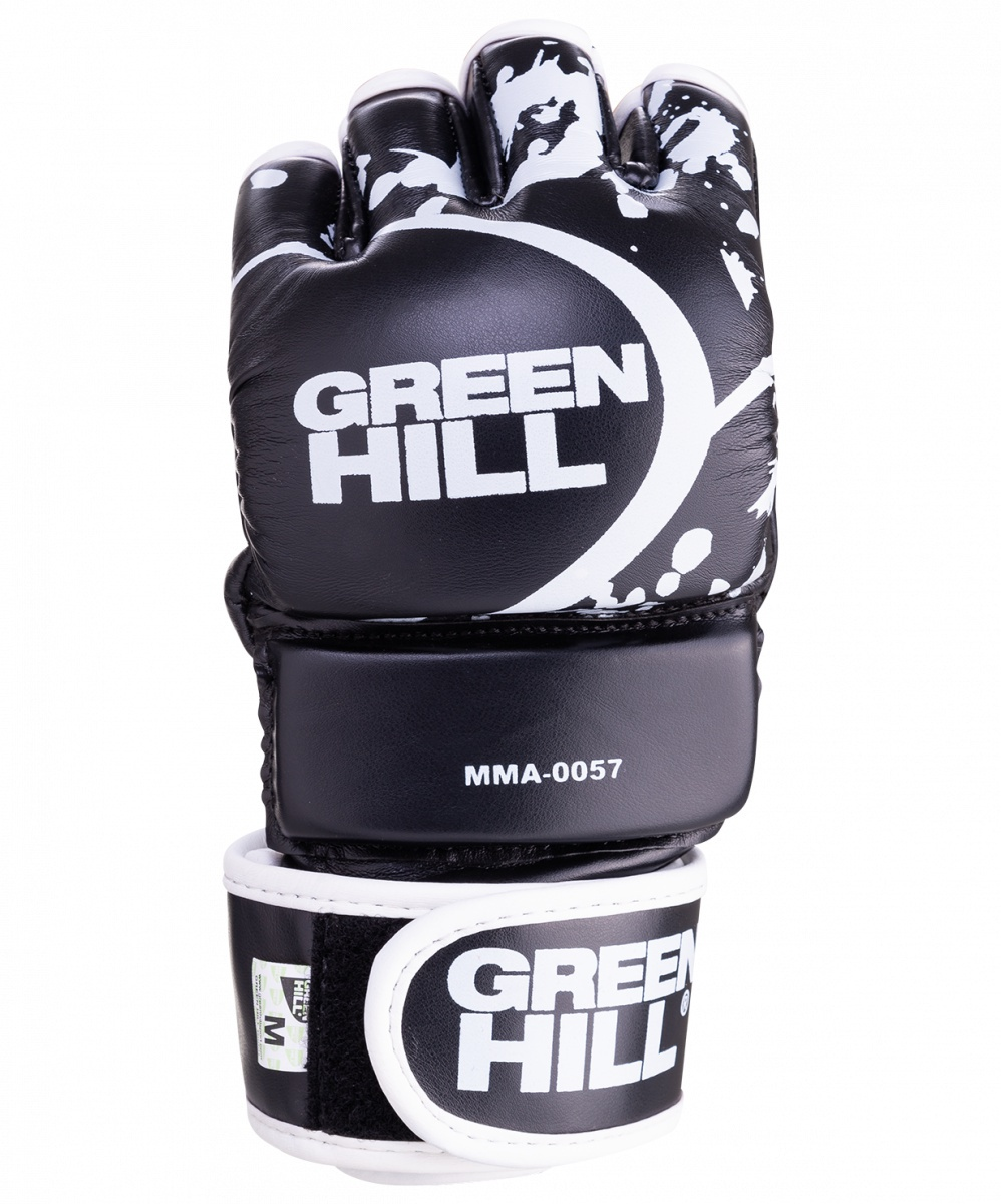 Перчатки для единоборств Green Hill MMA-0057, 0635409726260, размер S, черный перчатки jane green fsa004