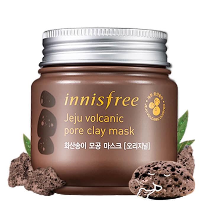 Маска косметическая Innisfree Глиняная маска Innisfree Jeju Volcanic Pore Clay Mask цена