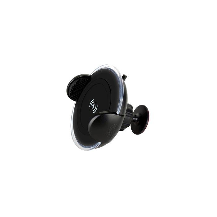 Автомобильный держатель Momax Momax Wireless Car Charger CM8, 4894222051959, черный