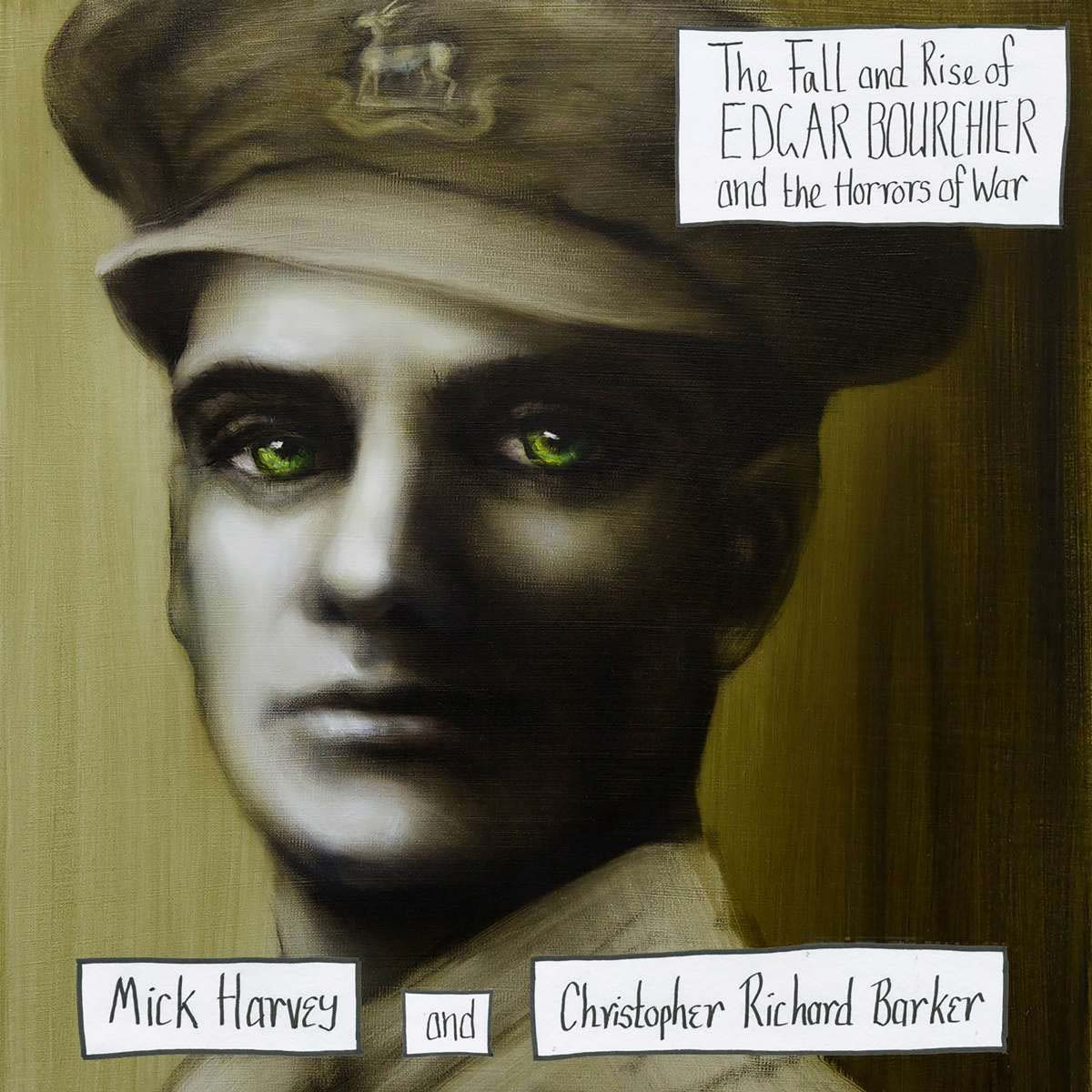 Мик Харви,Christopher Richard Barker Mick Harvey & Christopher Richard Barker. The Fall And Rise Of Edgar Bourchier And The Horrors Of War (LP) christopher owens christopher owens a new testament 2 lp