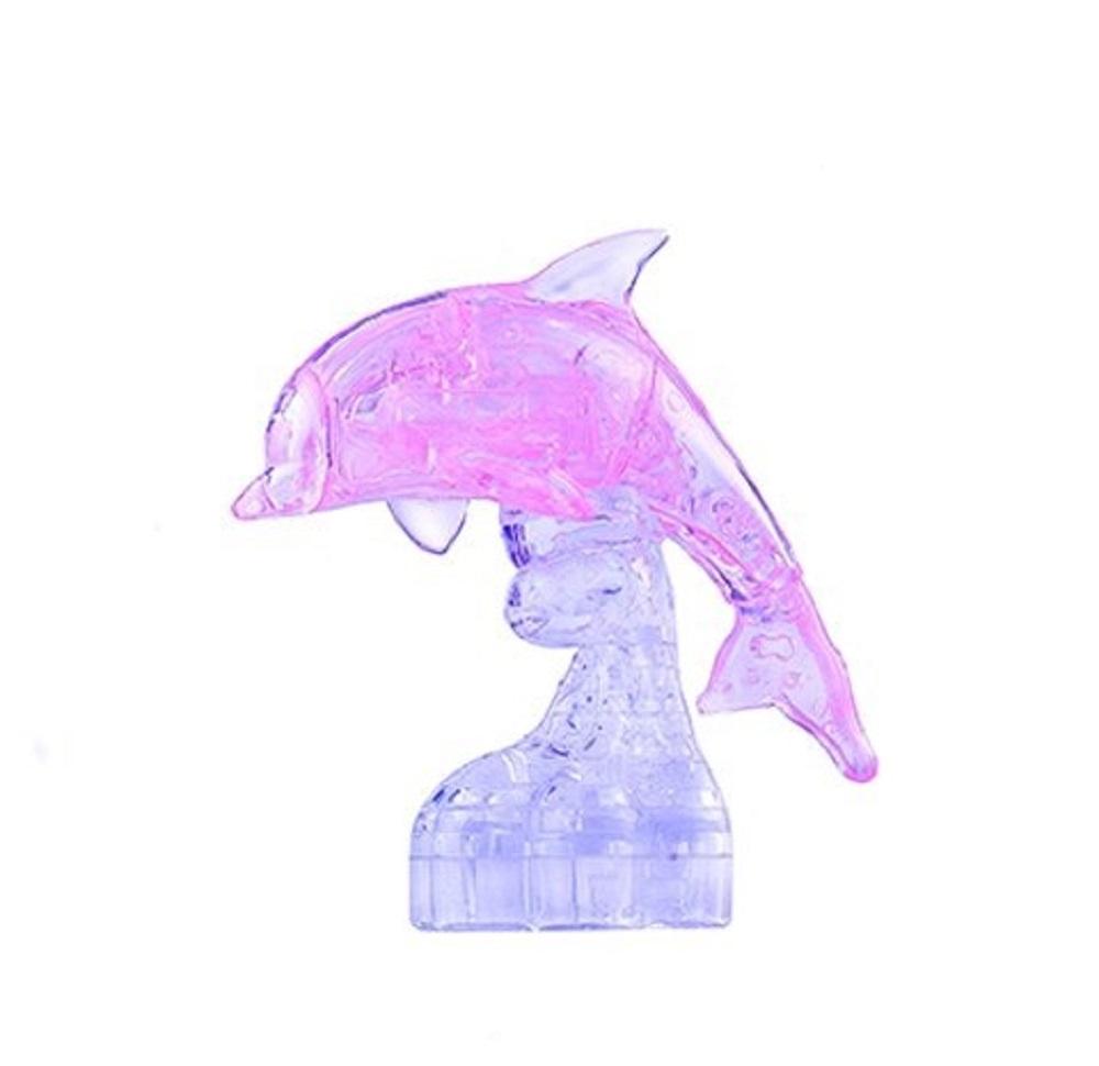 Головоломка ДЕЛЬФИН розовый цена