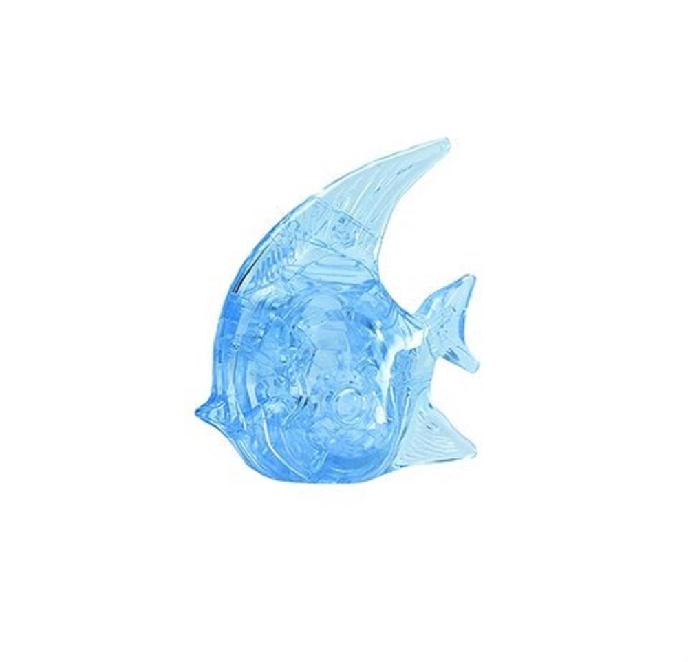 Головоломка РЫБКА голубая
