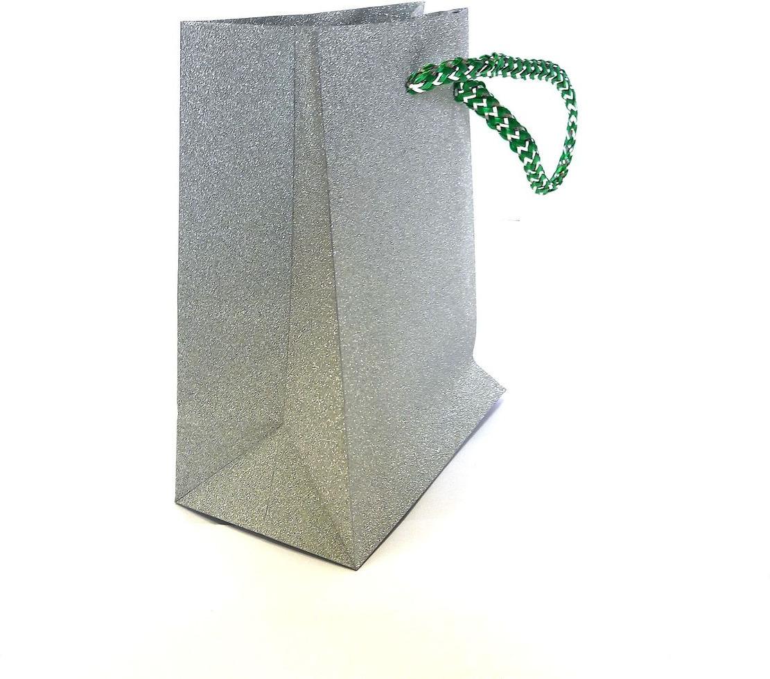 Пакет подарочный Яркий Праздник Однотонный, цвет: серый, 11,4 х 14,6 х 6,35 см пакет подарочный яркий праздник однотонный цвет розовый 17 8 х 22 9 х 10 2 см