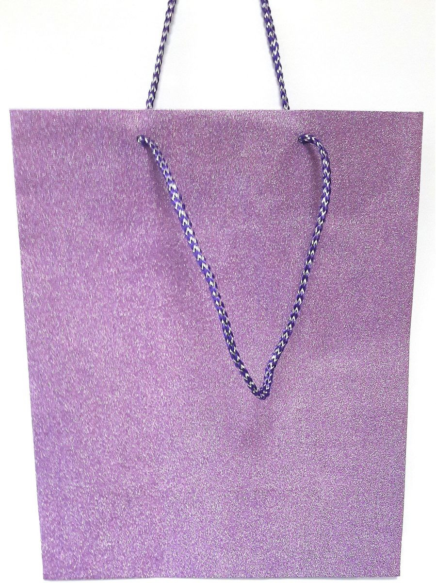 Пакет подарочный Яркий Праздник Однотонный, цвет: светло-фиолетовый, 26 х 32 х 12,7 см пакет подарочный яркий праздник однотонный цвет розовый 17 8 х 22 9 х 10 2 см