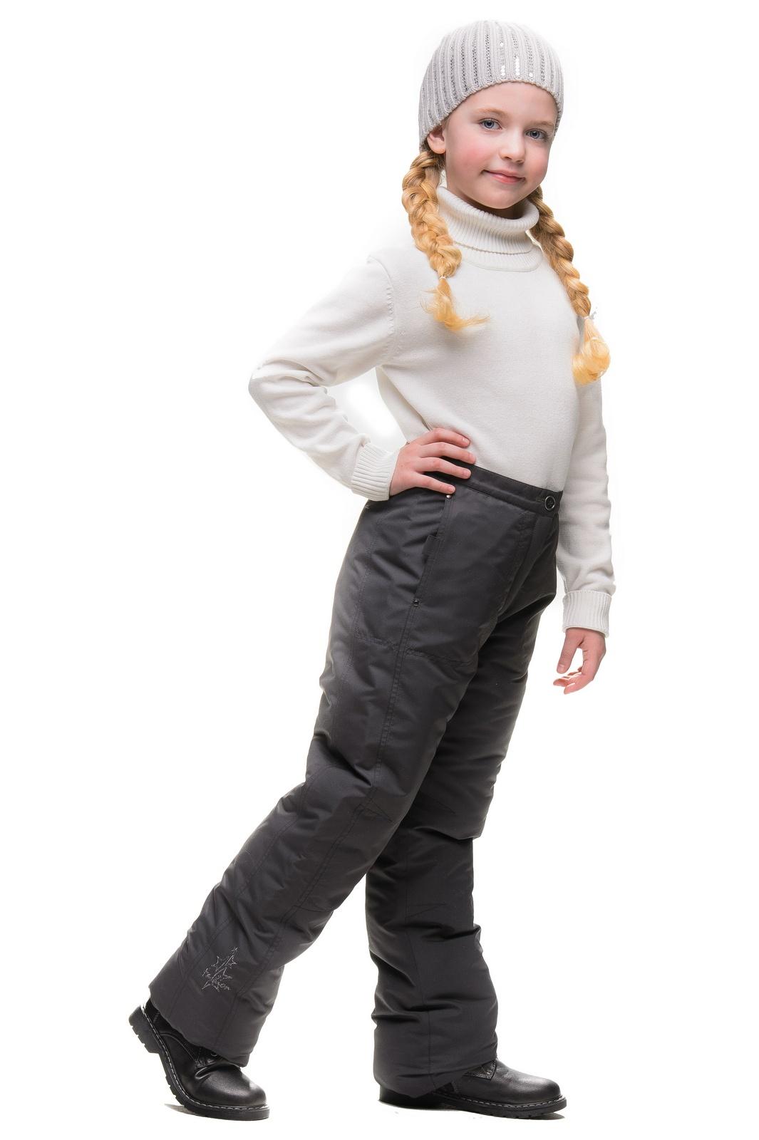 Брюки SAIMA брюки для девочки oldos милена цвет темно серый 3б1374 размер 152 12 лет