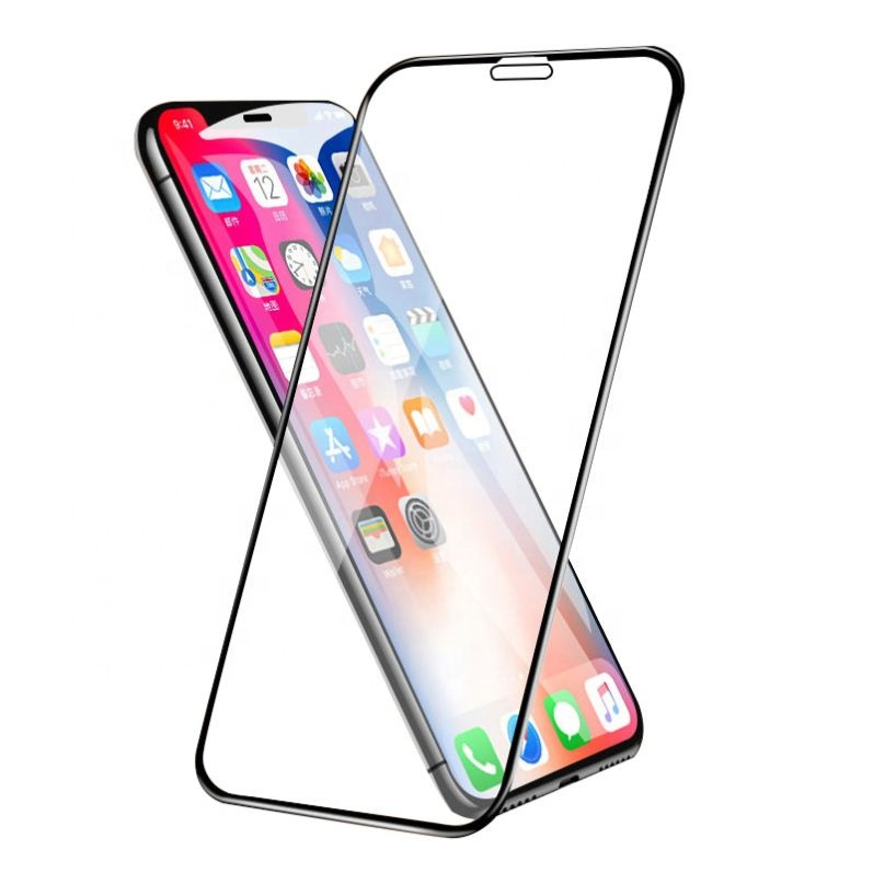 Защитное стекло 5D Glass Shield iPhone XR, IPXRbl, черный